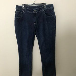 RIDERS BY LEE HIGH RISE SIZE 16W PETITE STRAIGHT